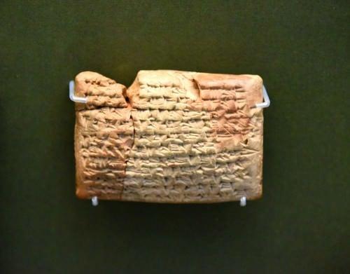 Una tableta mesopotámica con receta ginecológica contra el aborto involuntario