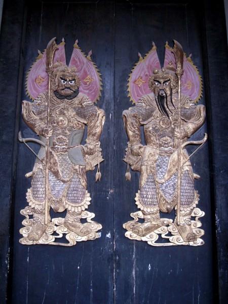 Deuses chineses da porta