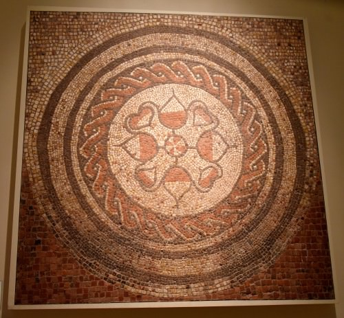 Mosaic from Abbots Ann