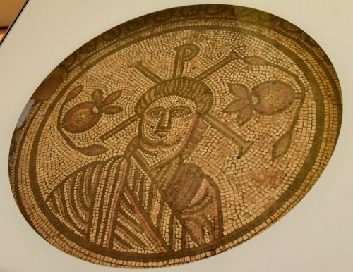 Mosaic Floor from a Villa at Hinton St. Mary