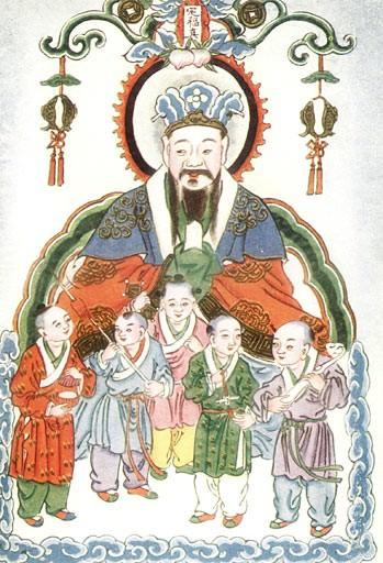 Zao-Shen, o Deus da Cozinha