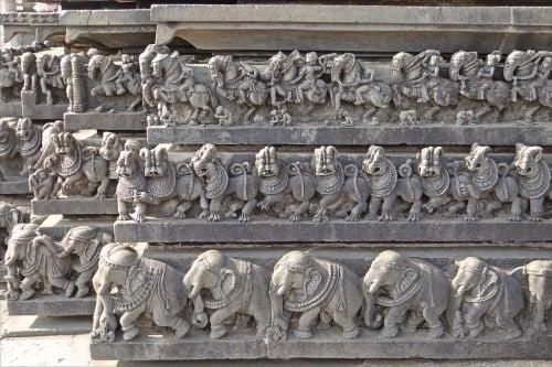 Chennakesava Temple in Belur