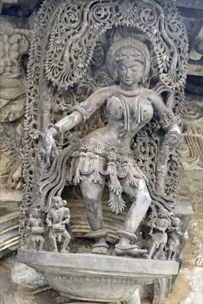 Shalabhanjika Sculpture in Belur