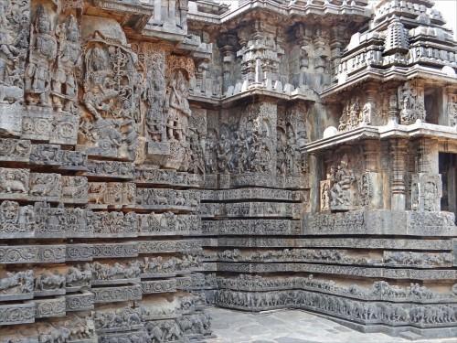 Templo de Hoysaleswara en Halebidu