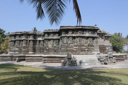 Kedareshwara Temple in Halebidu