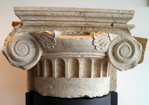 Ionic Pilaster Capital from Pella