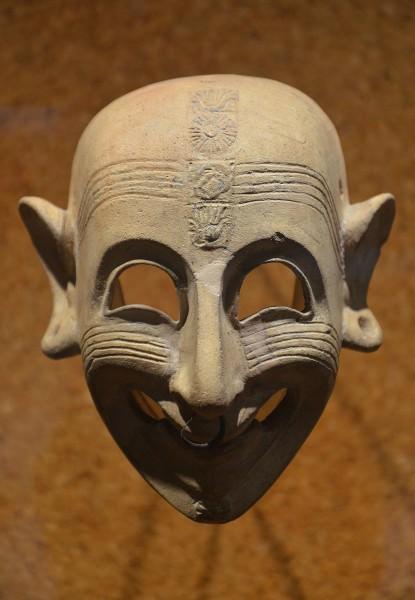 Máscara Sorridente Fenícia-Púnica