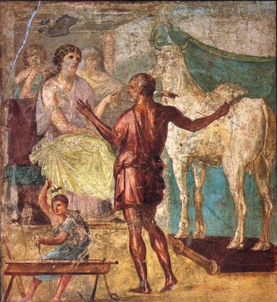 Daedalus & Pasiphae