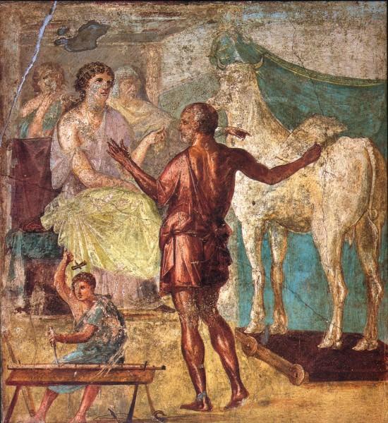 Daedalus e Pasiphae