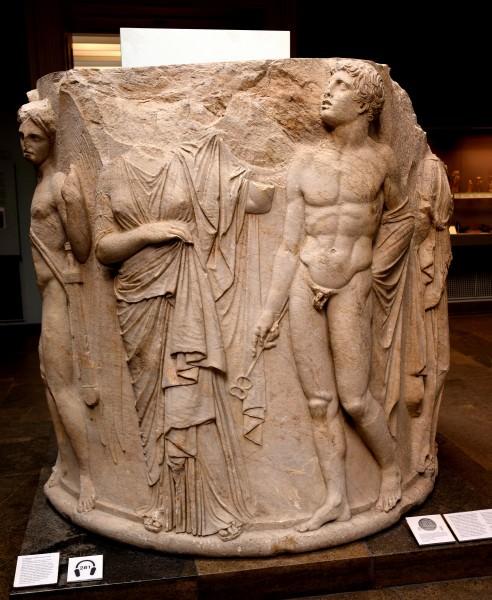 Tambor de columna del templo de Artemisa, Ephesos