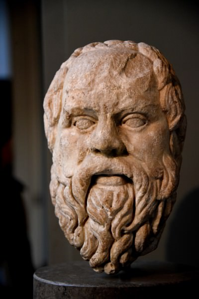 """defense of socrates 2018-5-8 outline lecture nine—living the examined life: socrates i)  the defense of socrates a) his defense for """"dabbling in  socrates as the manifestation of."""