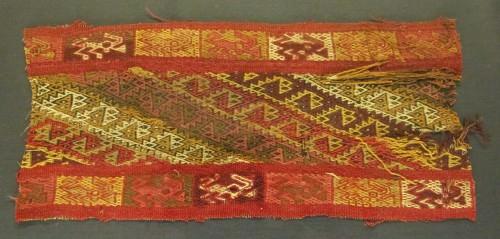 Fragmento Textil, Pachacamac