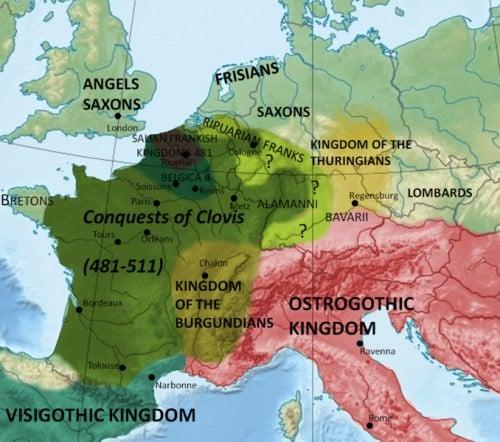 Conquistas de Clovis I