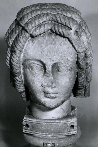 Busto del retrato de Cartago