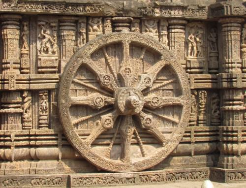Wheel, Konark Sun Temple