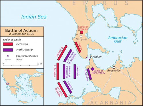 Battle of Actium 31 BCE