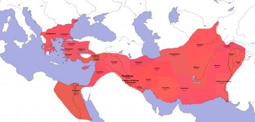 Sátrapas Diadochi 323 aC