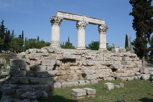 Temple of Octavia, Corinth