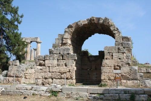 Agora, Corinth