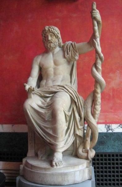 Statua di Asklepios