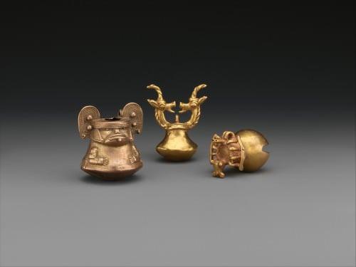 Tumbaga Bells of the Tairona Civilization