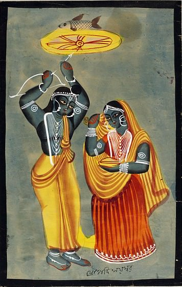 Arjuna gana a Draupadi