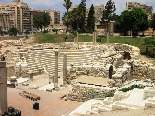 Teatro romano, Alejandría