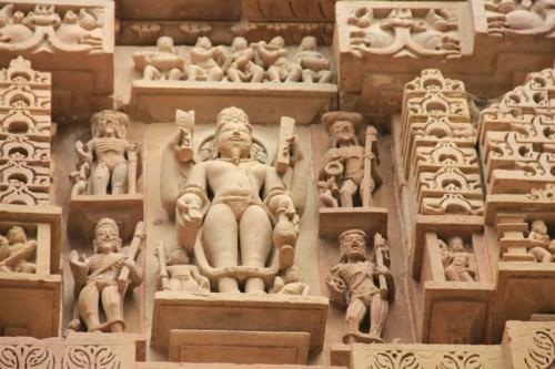 Agni figure, Khajuraho