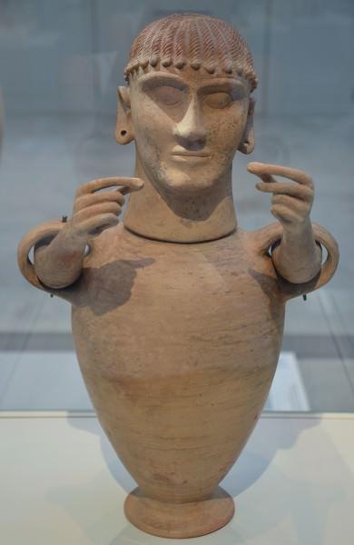 Urna Cinerária Etrusca