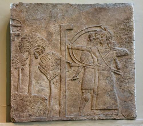 Babilonia bajo asedio asirio