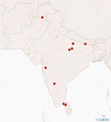 Ramayana: Lugares