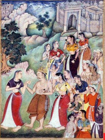 Gandhari & Dhritarashtra