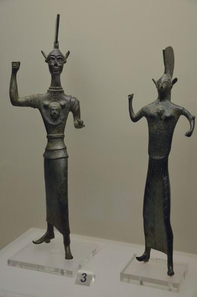 Estatuas votivas etruscas de Menerva (Atenea)