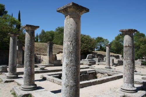 Casa de estilo griego, Glanum