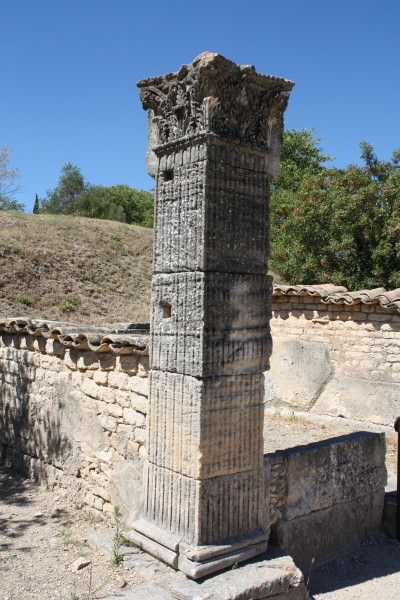 Square Column, Greek-Style House, Glanum