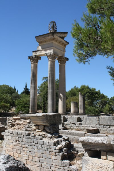Temple of the Imperial Cult, Glanum