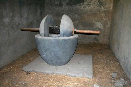 Trapetum Roman Olive Press