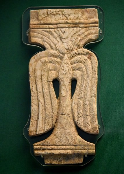 Nimrud Ivory Plaque of a Stylized Palm Tree