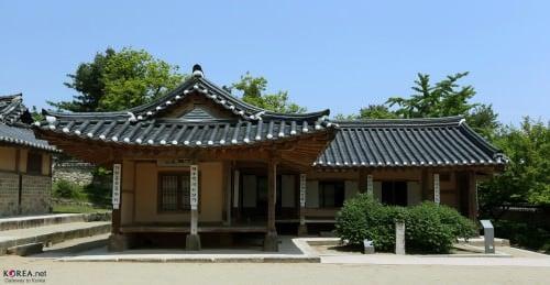 Korean Hanok Architecture Illustration Ancient History