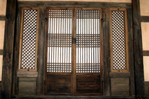 Puertas de papel coreano Hanji