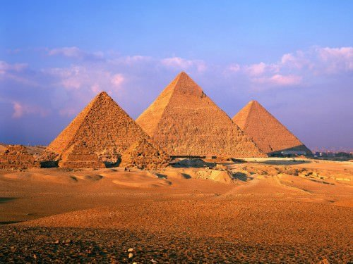 The actual Pyramids associated with Giza