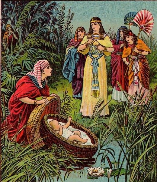 Moses Found by Pharaoh's Daughter