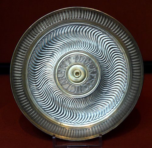 Inscribed Dish from the Carthage Treasure