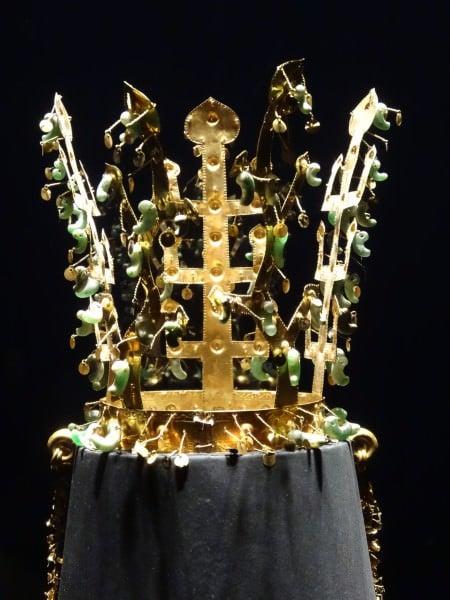 Gold Silla Crown