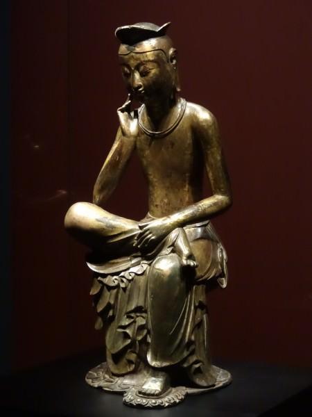 Gilt-bronze Silla Maitreya