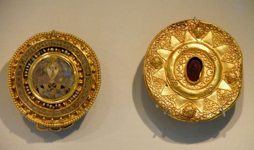 Lombardic Brooches