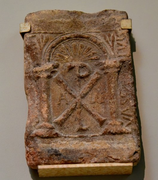 Inscribed Visigothic Tile