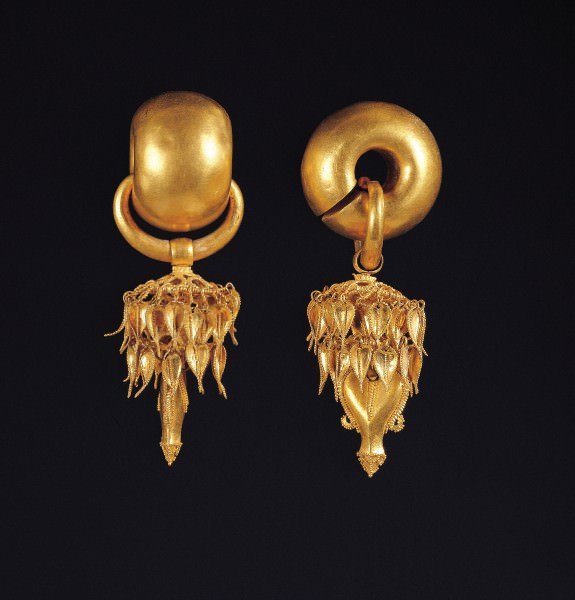 Silla Gold Earrings
