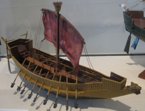 Egyptian Warship Model