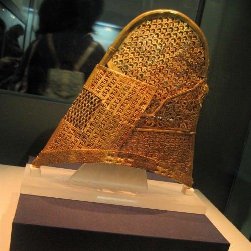 Gold Silla Cap